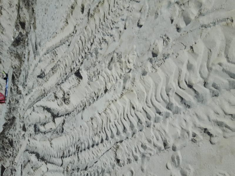 Багер руши пясъчните дюни на плаж Балтата