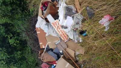 Незаконно сметище в село Големо Бучино