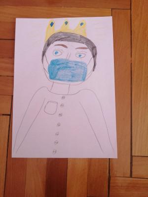 Деца от Пловдив благодариха на медиците с рисунки