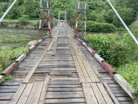 снимка 5 Опасен участък по пътя към село Желен