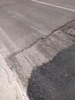 снимка 5 Дупки и липса на табели при ремонт на пътя в Искърското дефиле