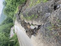 снимка 8 Опасен участък по пътя към село Желен