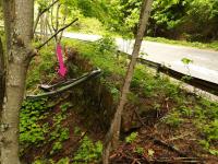 снимка 6 Аварийно състояние на пътни съоръжения в прохода Троян-Кърнаре