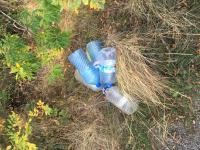 снимка 3 Мизерия и боклуци между Атия и Созопол