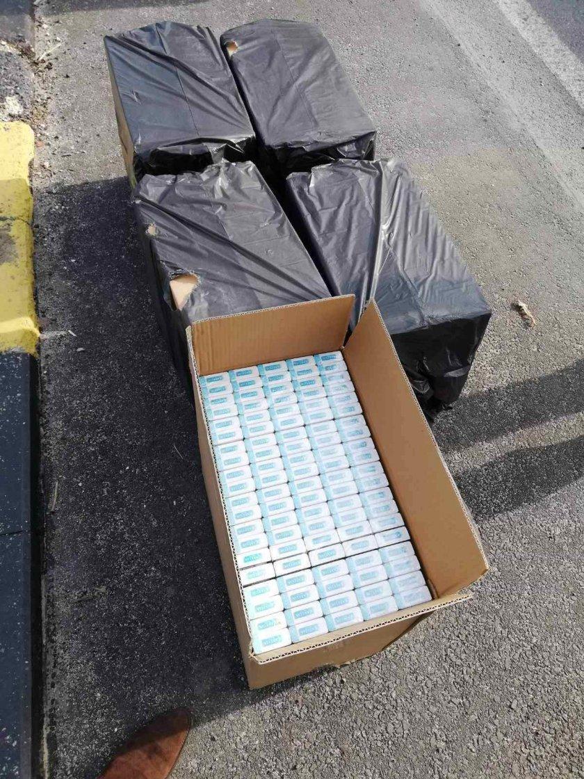хванаха контрабандни цигари полицейска акция варненско