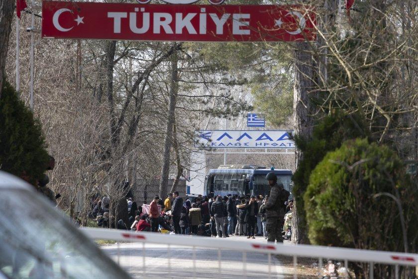турското външно министерство променяме бежанската политика