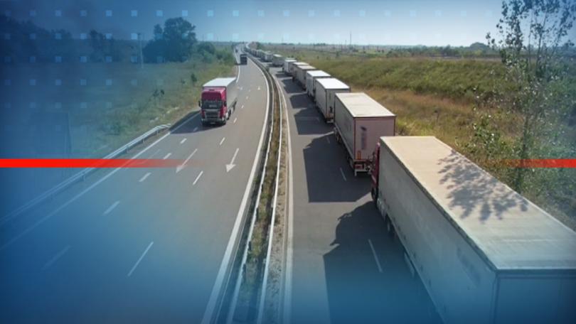 временно преустановява влизането българия тежкотоварни автомобили пътуващи турция влизащи нас определени държави