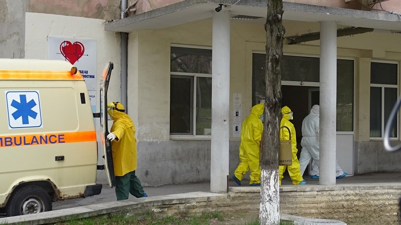 шестима настанени инфекциозното отделение болницата благоевград