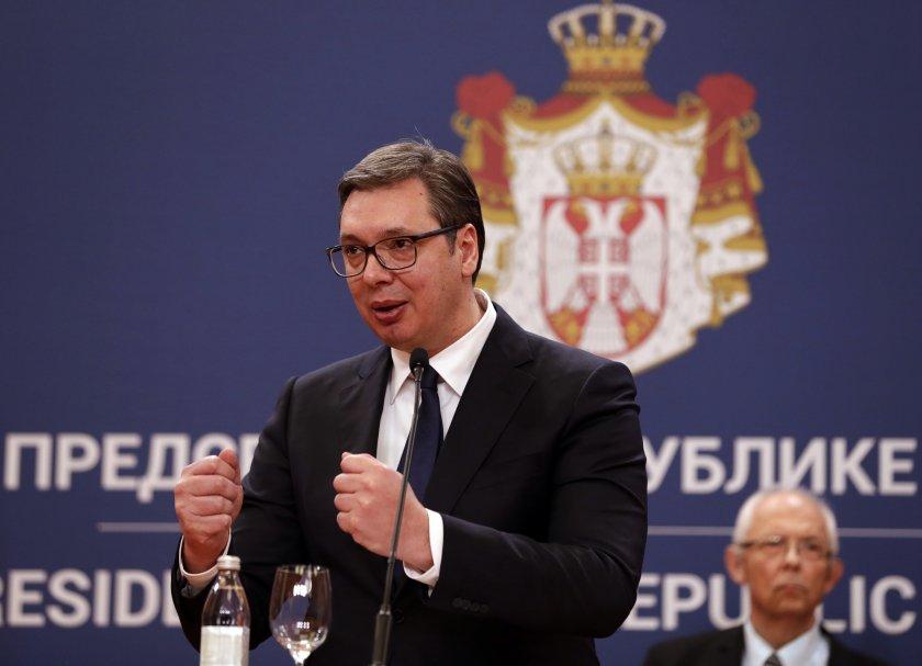 синът сръбския президент вучич болен коронавирус