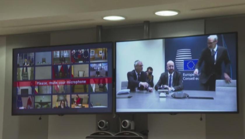 Евролидерите обсъждат мерки за възстановяване на икономиките в общността
