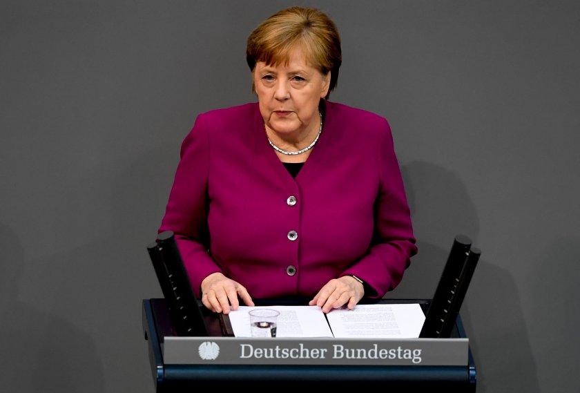 Ангела Меркел призова за европейска солидарност