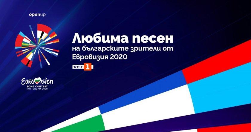 гласувайте вашата любима песен евровизия 2020