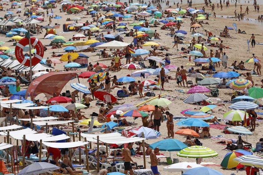 португалия въвежда мобилна апликация плажовете