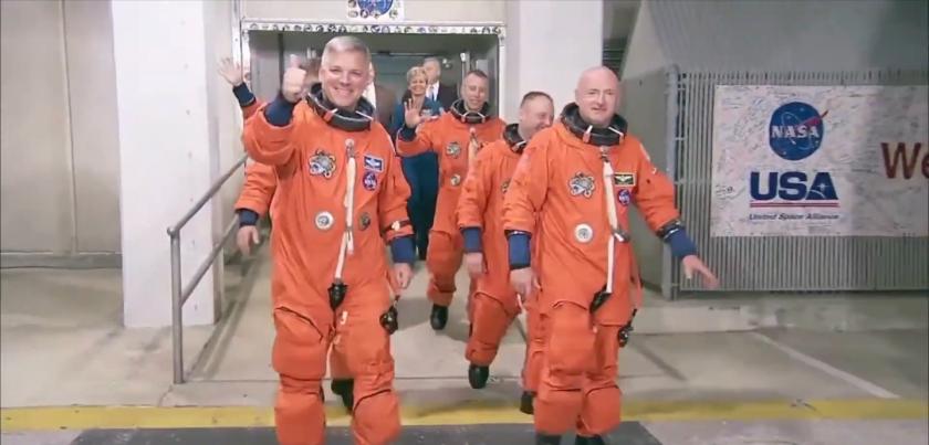 астронавт наса изолацията космоса земята