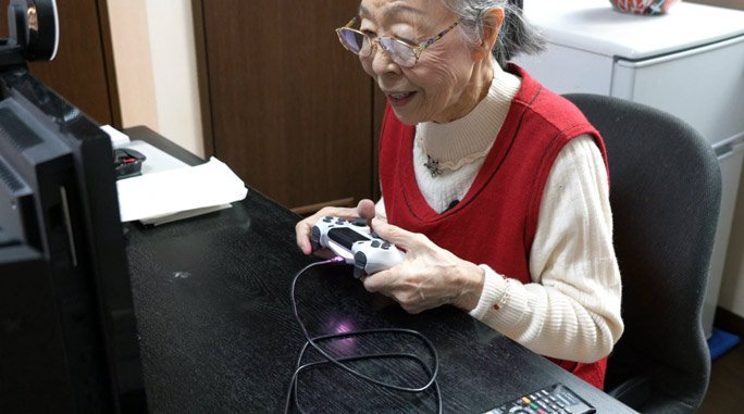 секунди без covid годишна японка възрастният геймър света