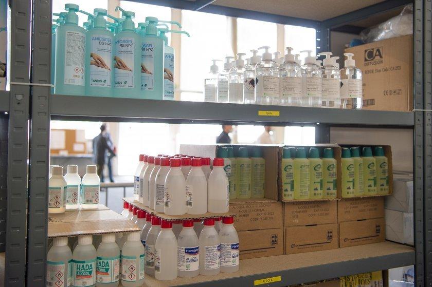 япония забрани препродажбата антисептици дезинфектанти
