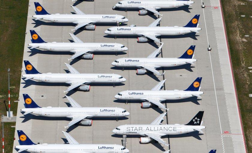 германия реши спаси луфтханза наля милиарда евро