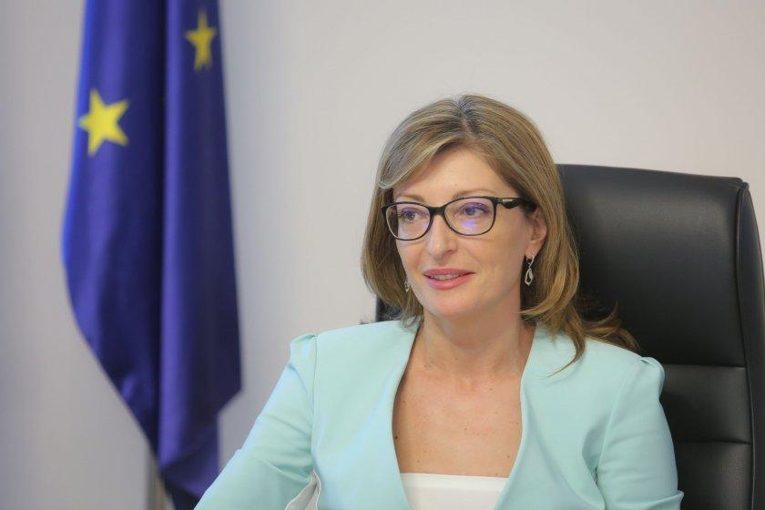 Министър Захариева с реакция по спора около руската изложба за 24 май