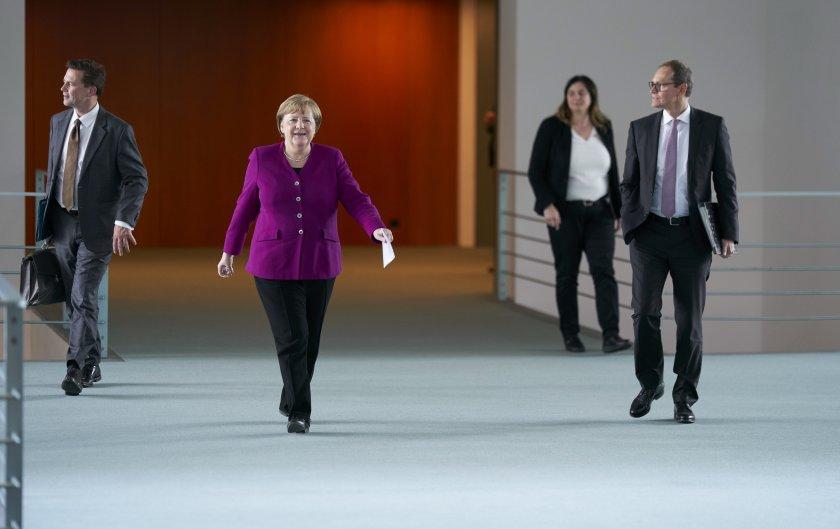 меркел акцентира приоритетите европредседателството германия