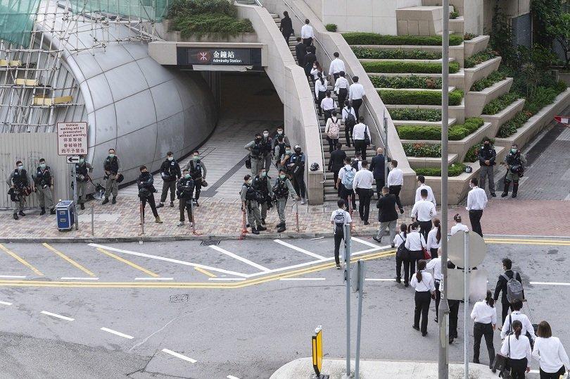 хонконг американските компании пострадат санкциите сащ