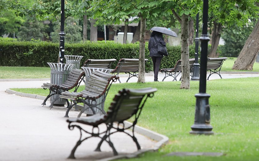 дъждовете отидат стопли времето нас