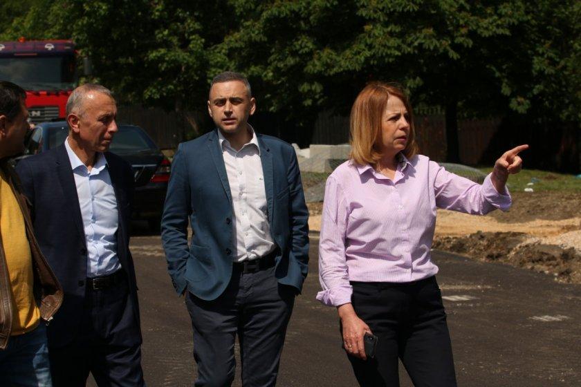 """Ремонтът на бул. """"България"""" продължава до 10 септември"""