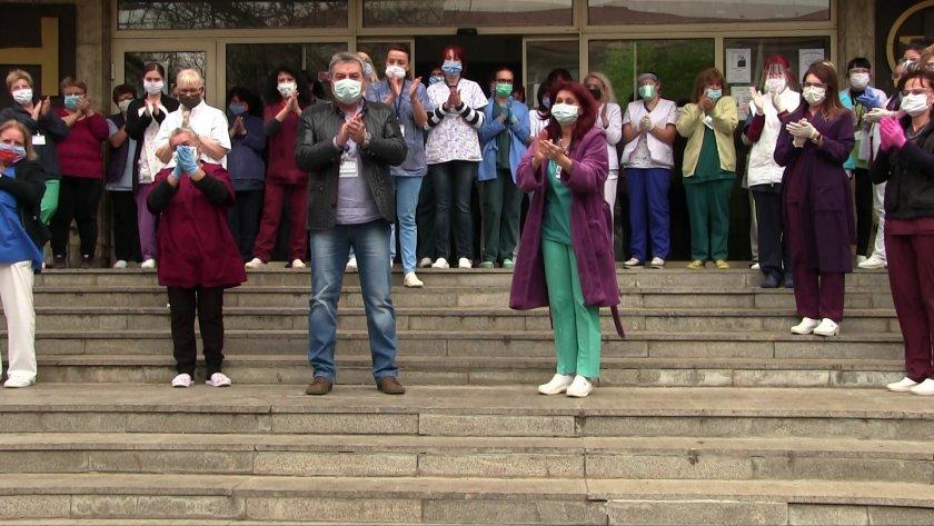 млн държавата медиците първа линия covid