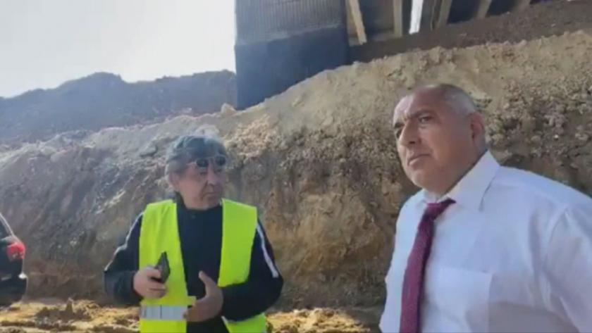 """Премиерът Борисов инспектира ремонтите на АМ """"Тракия"""": Мостовете ще бъдат готови на 30 юни"""