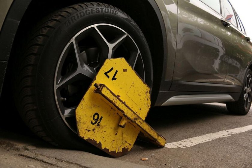 От 1 юли – скоби за неправилно паркиралите в Разград