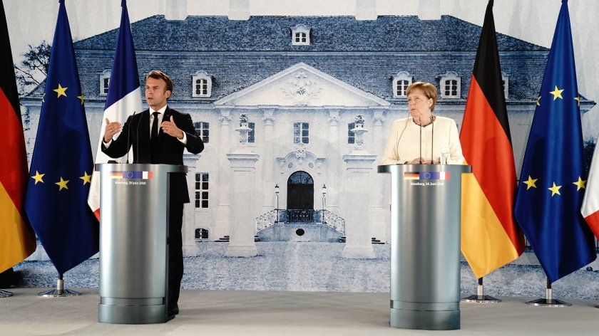 среща меркел макрон германското председателство