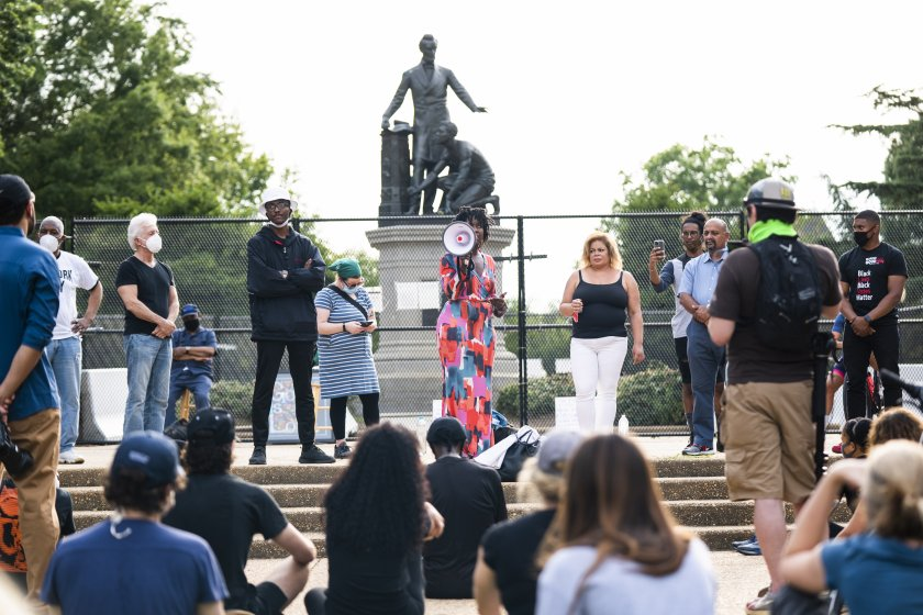 протест паметник линкълн вашингтон