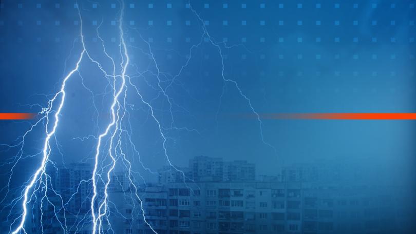 Само 25% от жилищните сгради във Варна имат защита от мълнии