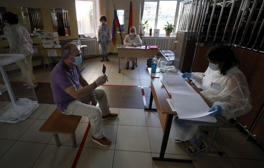 Започна седемдневно гласуване на референдум за конституционна реформа в Русия