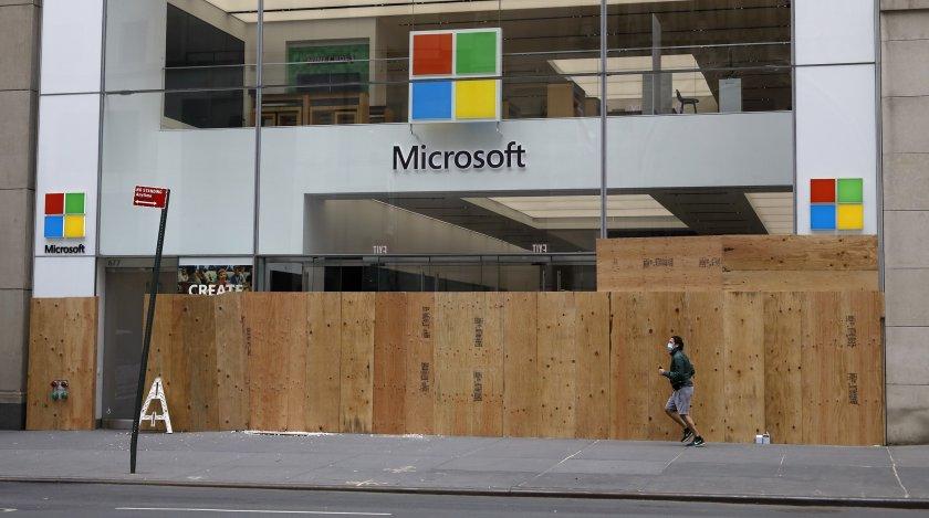 майкрософт затваря магазините целия свят