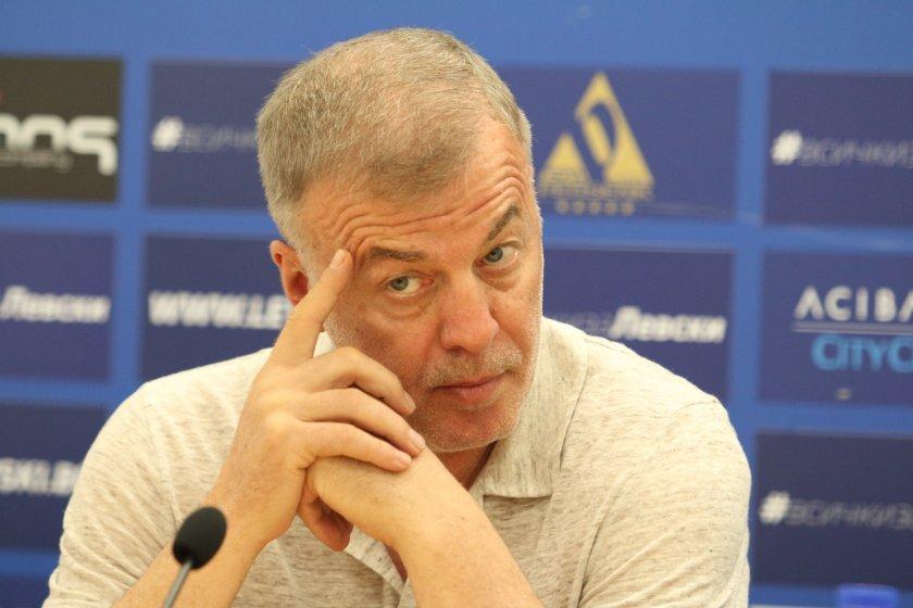 """Сираков се зарече: Няма да има тирета при """"Левски"""""""