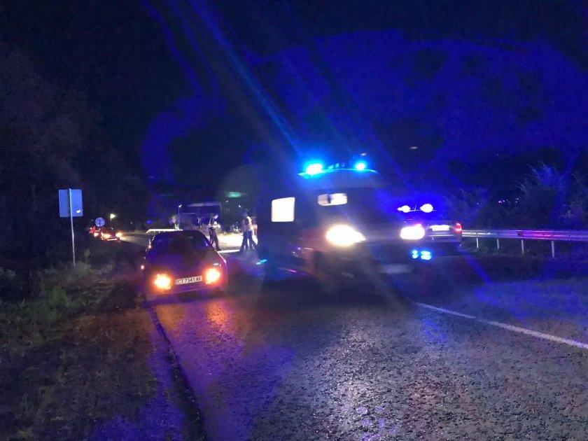 тежко птп четирима ранени разград тир отне предимство помля кола