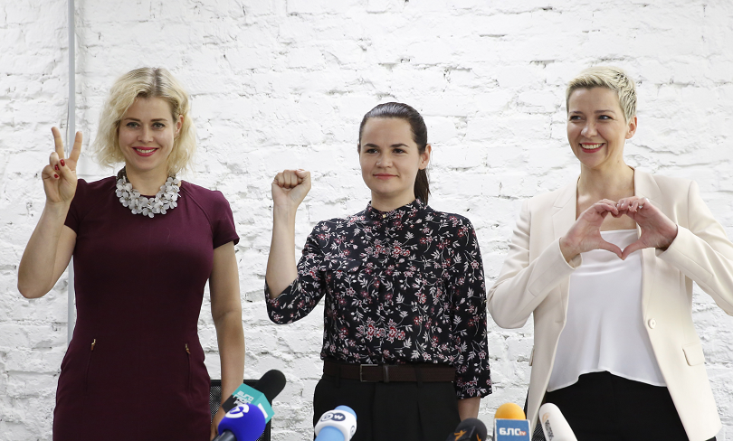 съперници лукашенко обединиха обща кандидатура президент