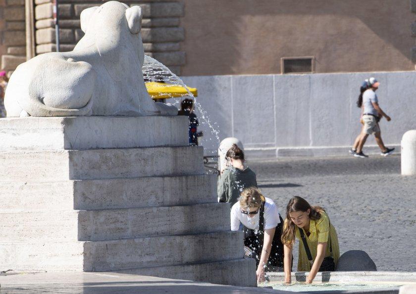 Гореща вълна в Италия, Испания и Франция