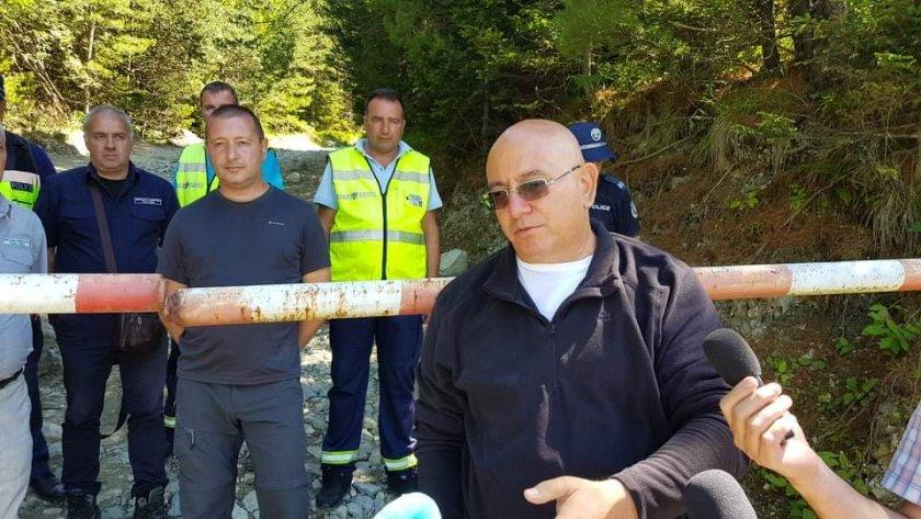 екоминистърът емил димитров посети района седемте рилски езера