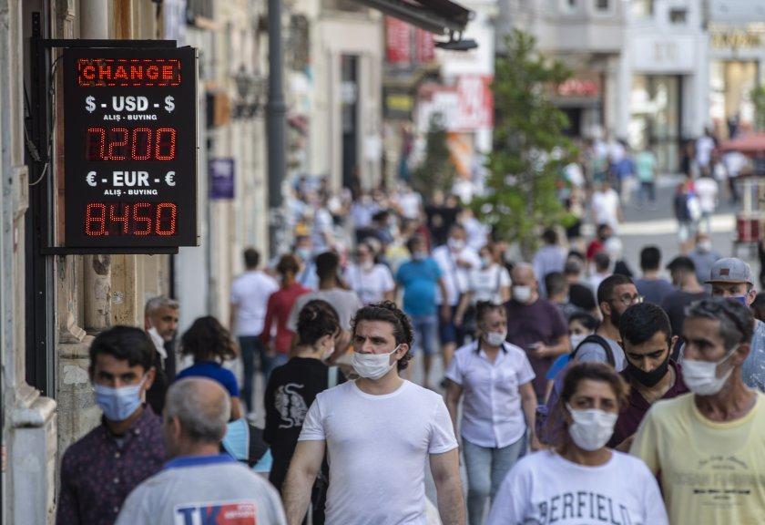 1172 нови случая на COVID-19 в Турция