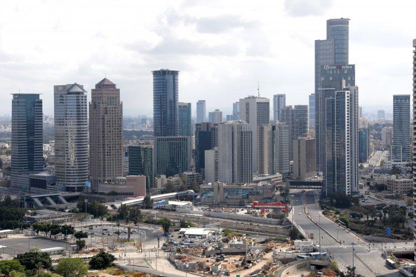 кметството тел авив светне флага ливан