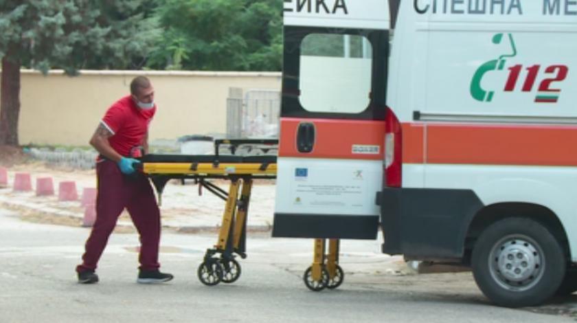 случая коронавирус спешна помощ пазарджик