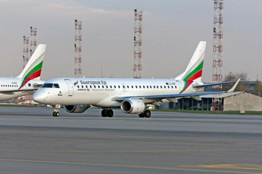 """""""България Еър"""" възстановява полетите до Израел от 23 август"""