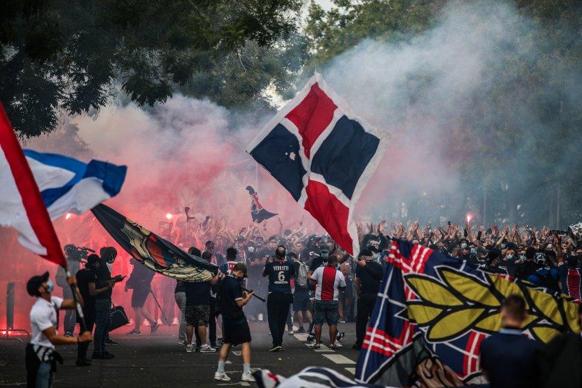 Сблъсъци в Париж след финала на Шампионска лига