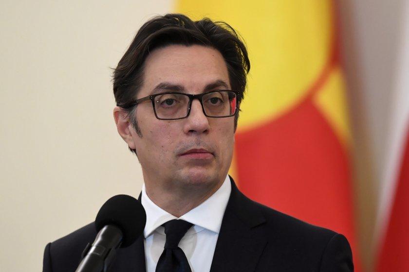 пендаровски очаква българия блокира преговорите северна македония