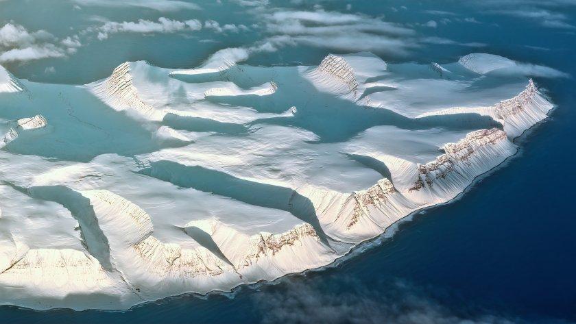 Ледените покривки разкриват най-лошия климатичен сценарий
