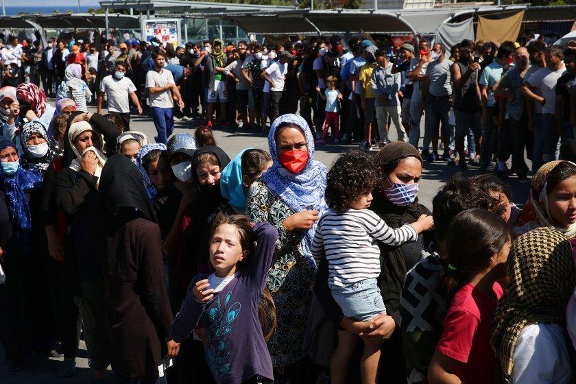 германия готова приеме 1500 мигранти лагера мория