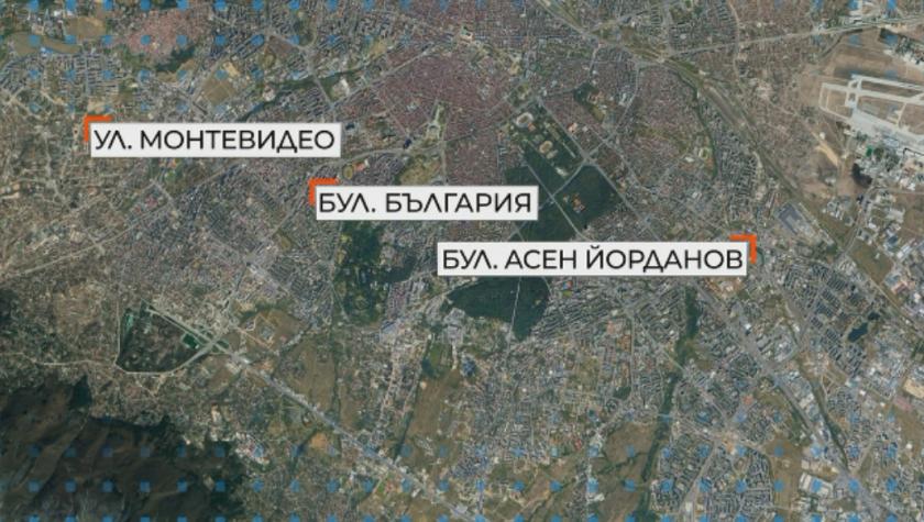 """След летните ремонти: Пуснаха движението по ул. """"Монтевидео"""" и бул. """"Асен Йорданов"""""""