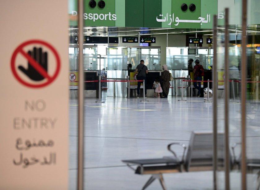 летището багдад ракетен обстрел