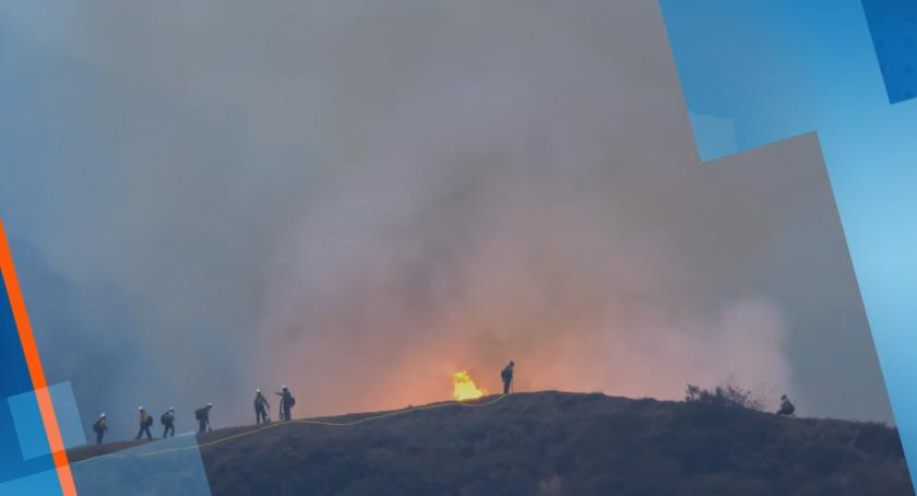 Димът от пожарите в САЩ стигна до Източното крайбрежие и Европа